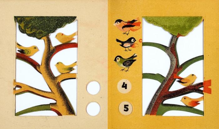 [Ученик Малевича, иллюстратор Хармса иВведенского] Считалочка/ рис. Л.Юдина. Л.: Детиздат, 1938.
