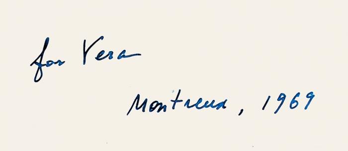 Набоков, В. [автограф] Ада: роман [фрагмент]/ Playboy: entertainment for men. Лос-Анджелес, Апрель, 1969.