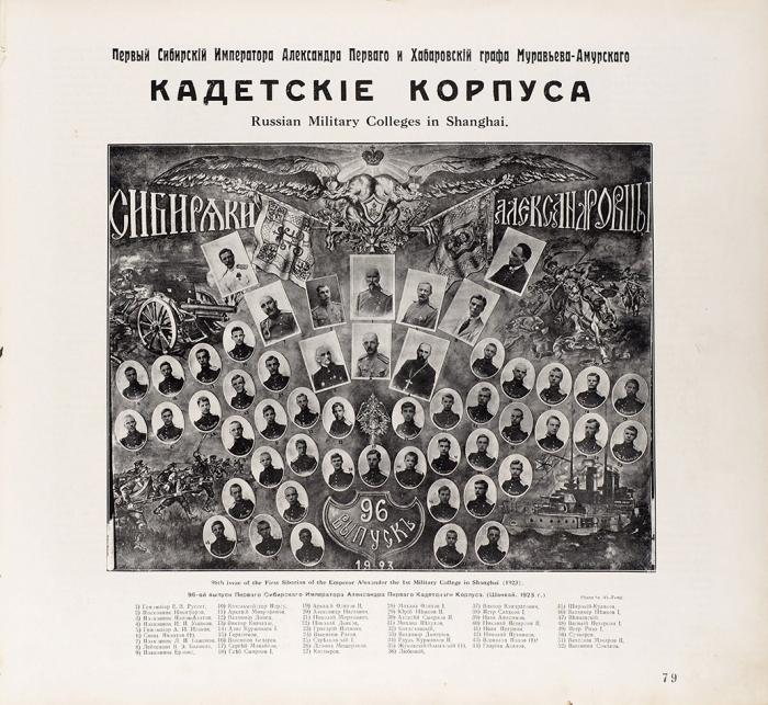 Жиганов, В.Д. Русские вШанхае. [Альбом]. Шанхай: Издание автора; Тип. издательства «Слово», 1936.