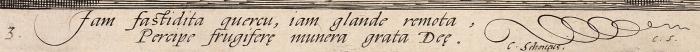 Гольциус Хендрик (Hendrik Goltzius) (1558–1617) «Церера». Лист №3изсерии «Бахус, Венера, Купидон иЦерера (Bacchus, Venus and Cupid and Ceres)». 1595. Бумага, резец, 28x21,4см (лист), 25x18,2см (оттиск).