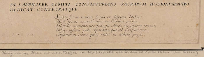 Жак Калло (Jacques Callot) (1592–1635) «Искушение Святого Антония». 1634. Бумага, офорт, 36,2x47см (лист обрезан).