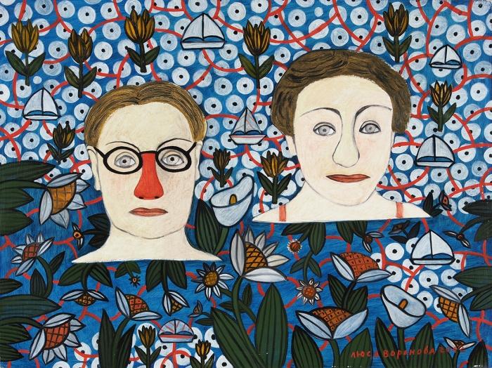 Воронова Люся (Людмила Владимировна) (род.1953) «Москва-река». 2012. Холст, масло, 60x80см.
