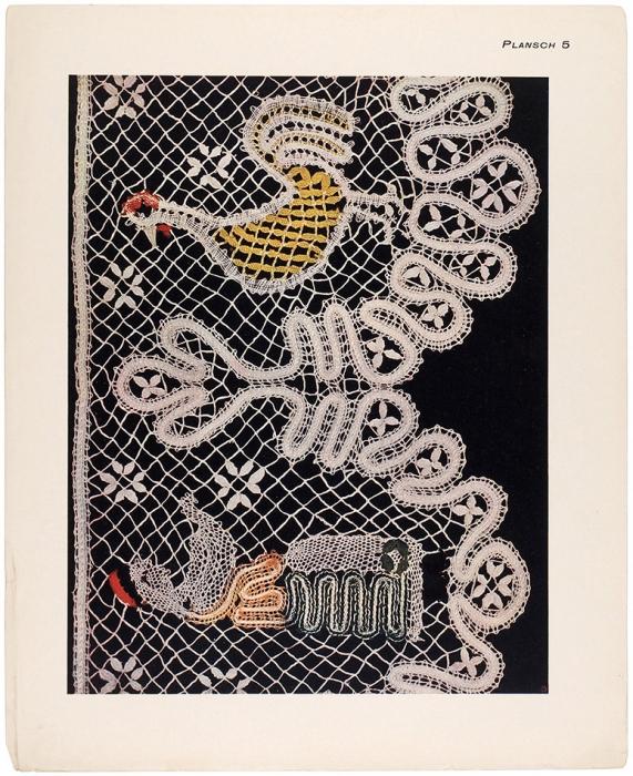[«Кружевной» альбом] Русские женские работы, собранные иизданные Эббой Сальвен/ пер.сшведского. Стокгольм: Издание Т-ва М.О. Вольф; Т-во «Льюс», 1912.