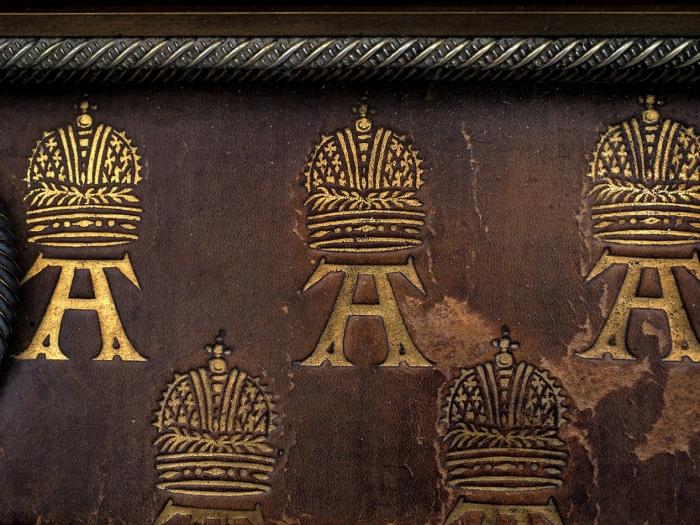 [Для Эрмитажа иОружейной палаты] Ларец, подаренный накоронацию императора Александра III Германской Империей влице правителя кайзера Вильгельма I. Мюнхен: мастерская Фрица фон Мюллера, 1883.