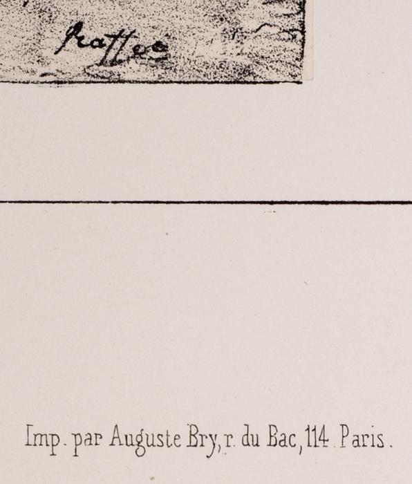 Раффе Огюст (Raffet Denis-Auguste-Marie) (1804–1860) «Почтовые лошади». Лист из«Альбома кпутешествию вЮжную Россию иКрым через Венгрию, Валахию иМолдавию, совершенному в1837 году Анатолием Демидовым». 1840-е. Бумага, литография, 35x54см (лист).