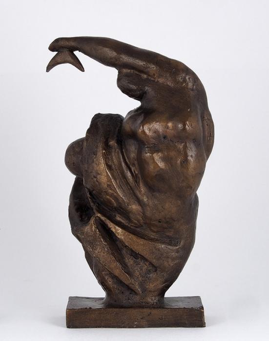[Собрание Г. Сапгира] Скульптура «Танец». Автор Э. Неизвестный. 1960-е— 1970-е. Бронза, литье. Высота 28см.