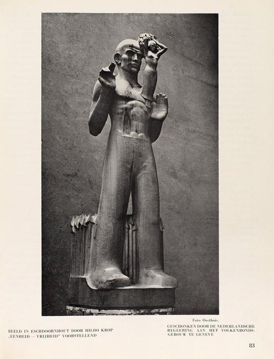 Хроника современного искусства икультуры. [Kroniek van hedendaagsche Kunst enKultuur. Наголландскомяз.] №3Сентябрь. Б.м., 1935.