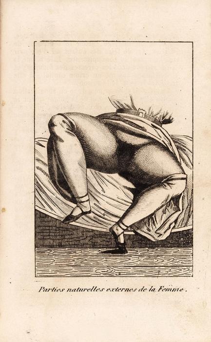 [Анатомия супружеской жизни вкартинках] Венетт, Н.Картина супружеской любви. [Venette, N.Tableau del'Amour conjugal. Chez Les marchands denouveautés. Нафр.яз.]. В4т. Т. 1-4. Париж, [ок.1830].