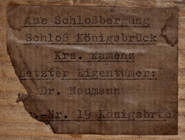 Шиндлер, Осмар. Давид иГолиаф. [конец 1890-х].