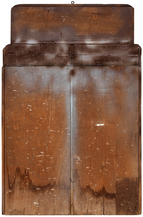 Деревянная панель «Десять заповедей» изТоры. Наиврите. Восточная Европа, конец XIX— начало XXвека.