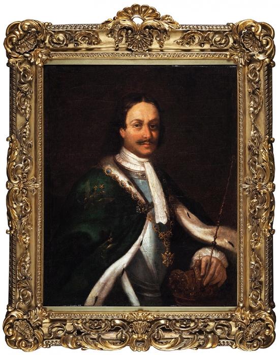 [Тип Каравака 1723года] Неизвестный художник. Портрет Императора Петра Великого. Вторая четверть XVIIIвека.