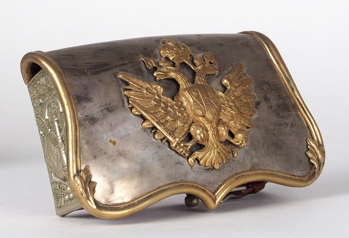 Офицерская кавалергардская лядунка. [Австрийская империя., XIXв.].