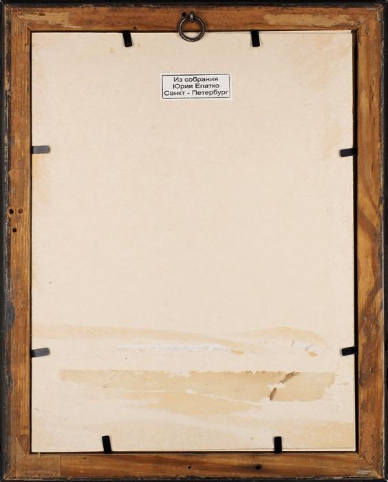 [Собрание коллекционера Ю.Г. Епатко] Борель Петр Федорович (1829–1898) «Портрет великого князя Николая Павловича». 1850-е.