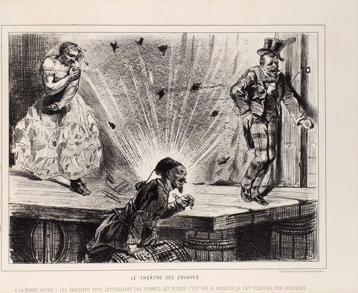 [Альбом литографий] Нравы московитов/ худ. Girin. [Moeurs moscivites/ par Girin. Нафр.яз.] Париж: Chez Arnauld deVresse, сер. XIXв.